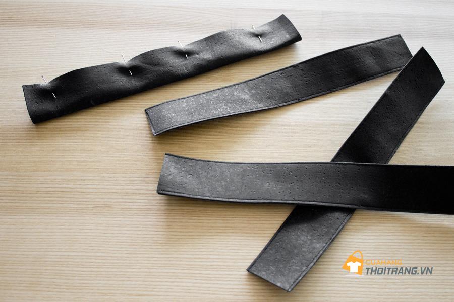 Hướng dẫn cách làm dép sandal bằng da